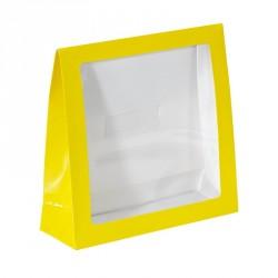 Emballage alimentaire Pâques pour confiseur chocolatier - Pocket Jaune