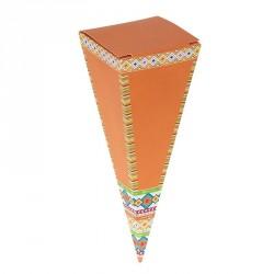 Emballage alimentaire de Pâques chocolatiers confiseurs - Cornet Tipi