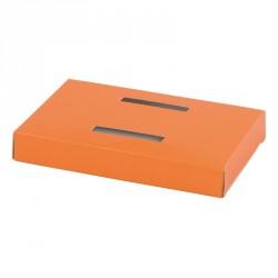 Accessoire pour emballage alimentaire de Pâques - Socle Orange pour Poule en Chocolat