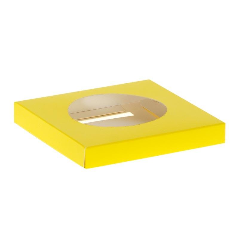 Emballage alimentaire pour œuf en chocolat de Pâques - Accessoire - Socle Œuf Jaune