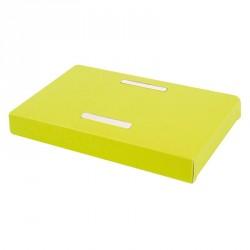 Accessoire Emballage alimentaire chocolat de Pâques - Socle Poule Vert