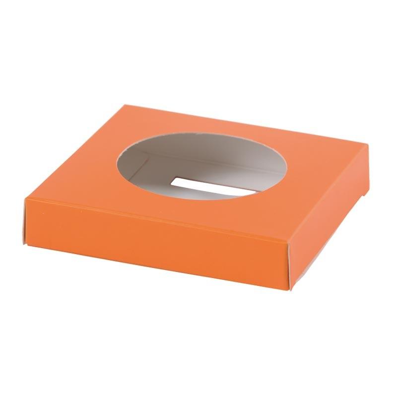 Accessoire pour Packaging alimentaire de Pâques - Socle Œuf Orange