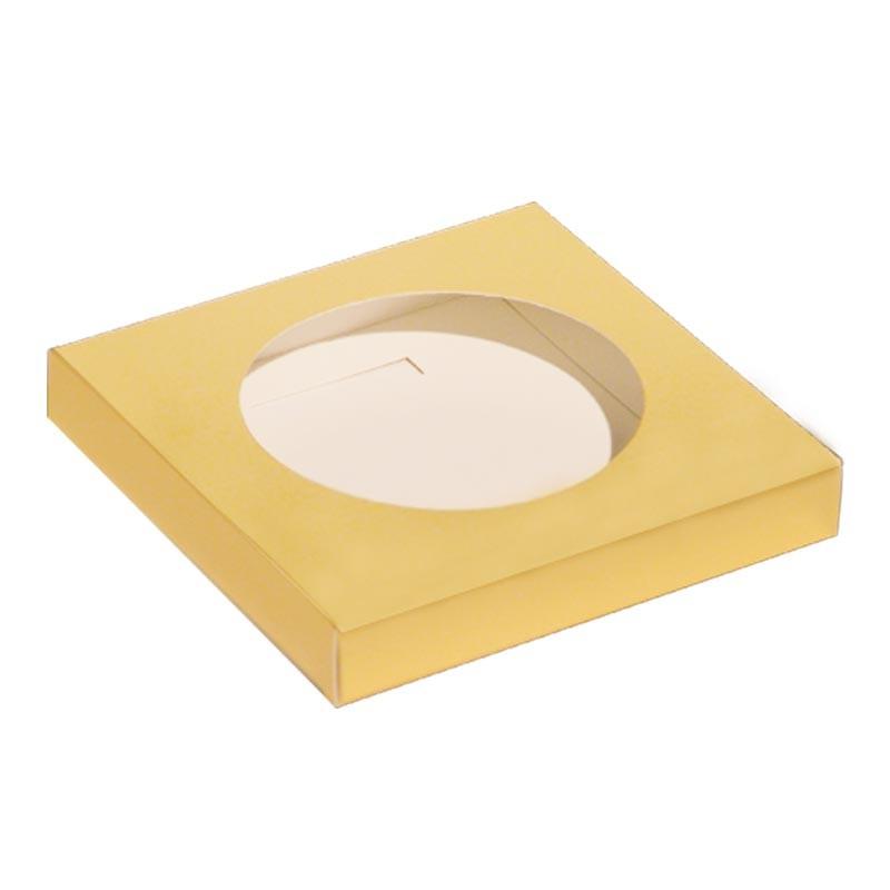 Accessoire packaging - Création de vitrine de Pâques - Socle Œuf Or