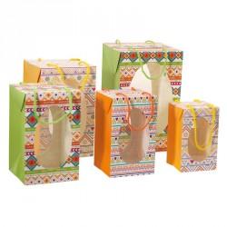 Emballage alimentaire pour chocolats de Pâques - Sac Boîte Œuf Apache