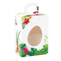 Emballage alimentaire pour œuf en chocolat de Pâques - Erine Tropicale