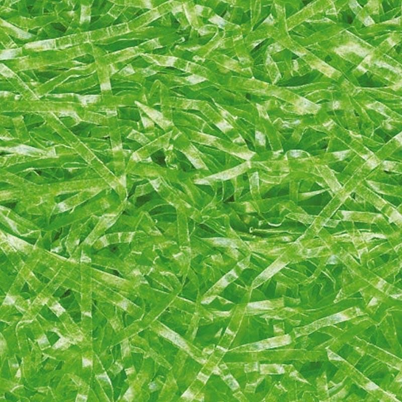 Accessoire pour packaging alimentaire de Pâques - Frisure pergamine Vert