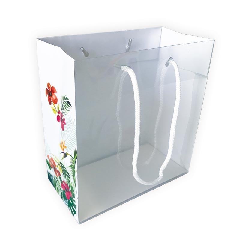 Emballage alimentaire à fleurs pour Pâques - Sac Maxivision Tropicale
