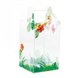 Packaging de Pâques pour chocolatiers/pâtissiers - Baggy Œuf Tropicale