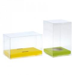Emballage alimentaire transparent pour œuf ou poule de Pâques - Mixity