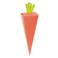 Emballage alimentaire, Pochette surprise de Pâques en forme de carotte