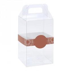 Packaging transparent en PVC - Baggy Œuf avec Bague Éclat pour Pâques