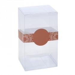 Emballage transparent pour œuf en chocolat - Zeus oeuf avec Bague Éclat pour Pâques