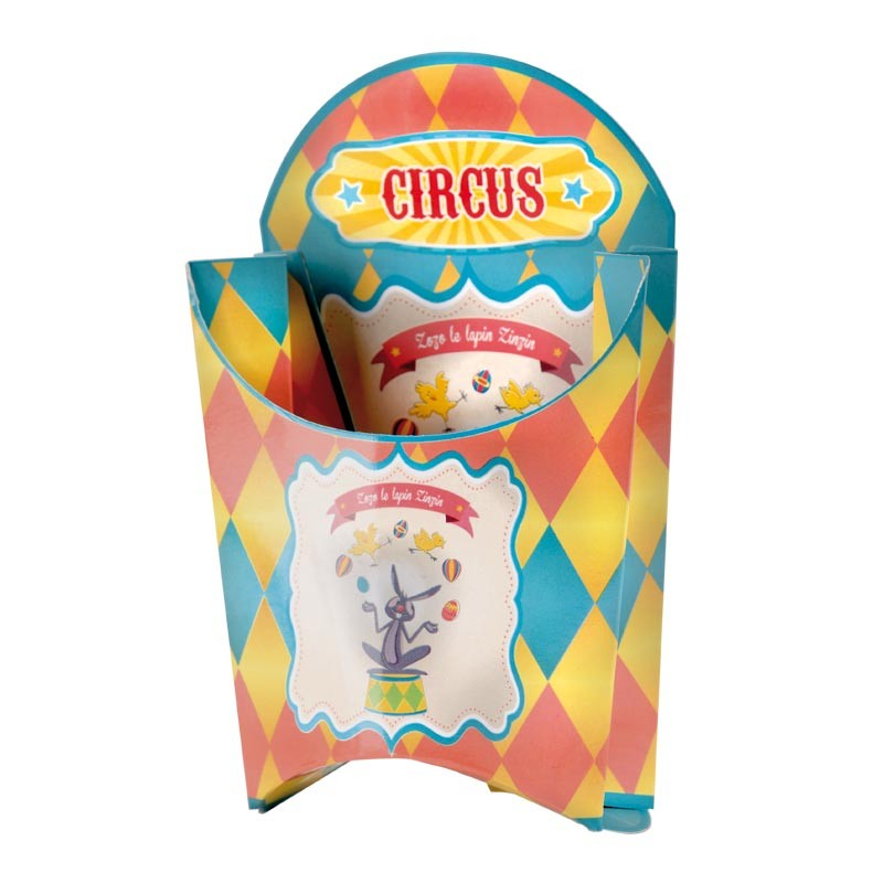 Packaging pour vitrine chocolatiers/pâtissiers Pâques - Memphis Circus