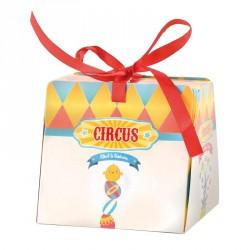 Emballage alimentaire - Vitrine chocolats de Pâques - Zébulon Circus
