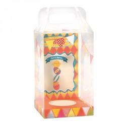 Packaging alimentaire de Pâques - Baggy Œuf Farandole et Carte Circus