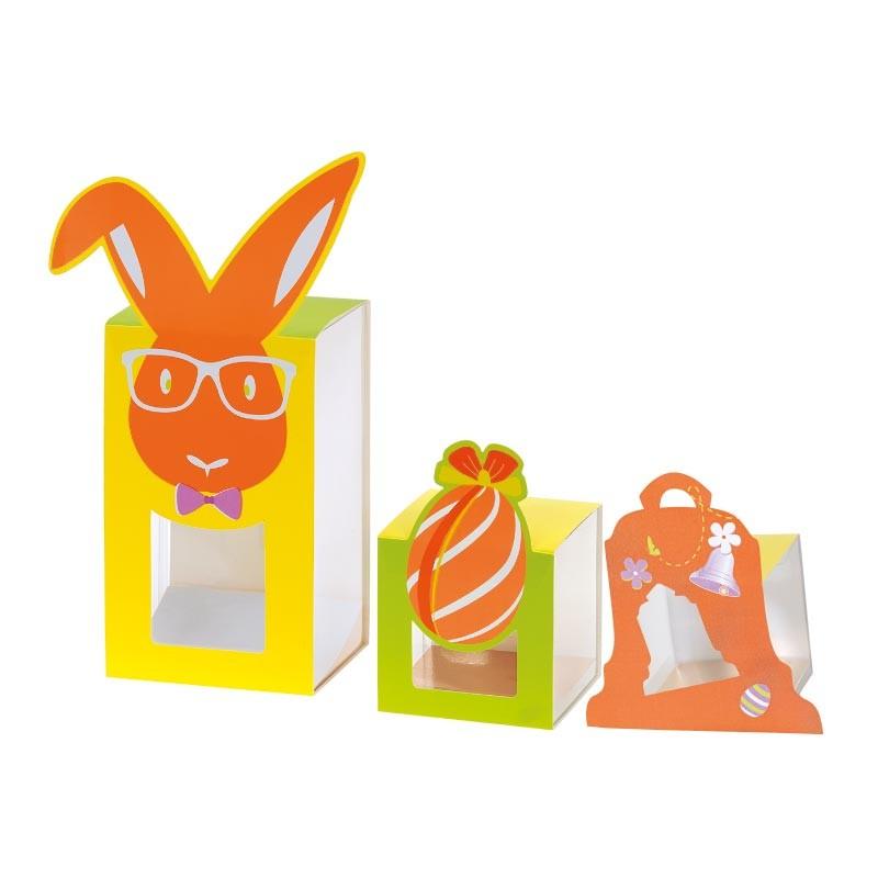 Fourreau et Cube Transparent pour Pâques