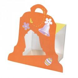 Packaging alimentaire pour Pâques - Fourreau cloche et Cube Transparent