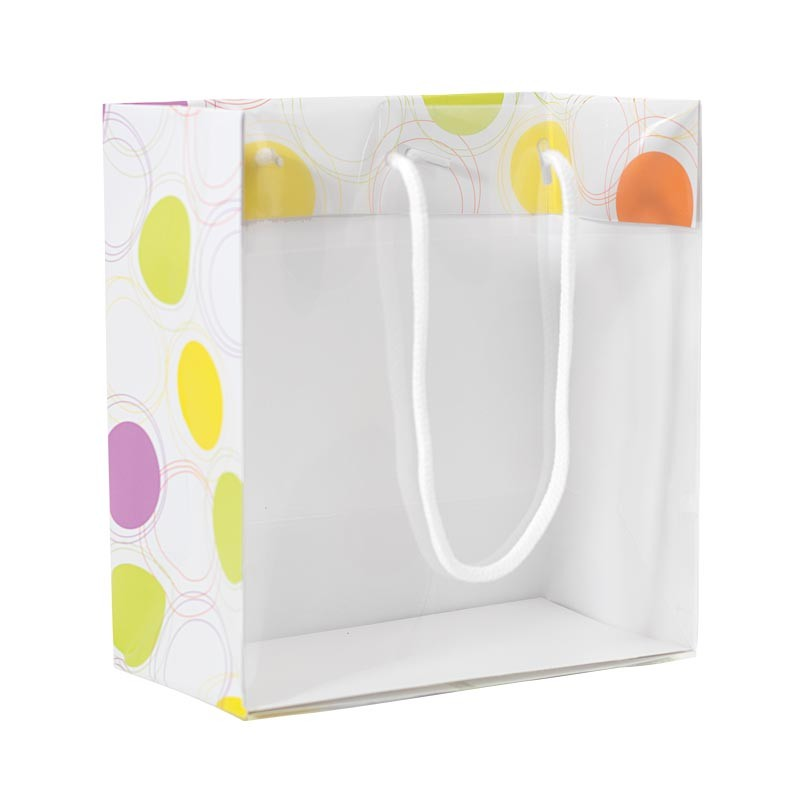 Emballage alimentaire imprimé transparent - Sac Maxivision Gommettes