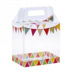 Packaging alimentaire transparent - Baggy Poule Farandole pour Pâques