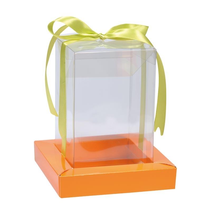 Packaging alimentaire de Pâques - Étui Trottoir et Cube Transparent