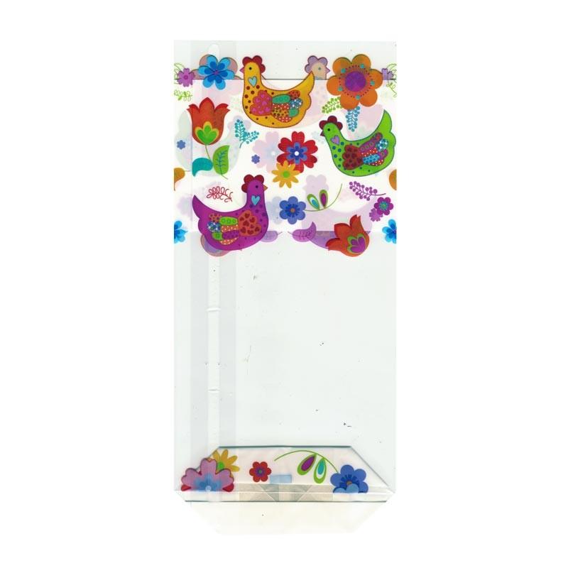 Sachet cellophane Méli Mélo - Packaging de Pâques