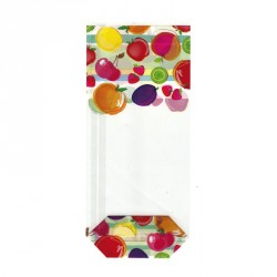 Sachet cellophane Coktail de Fruits - Packaging chocolaterie
