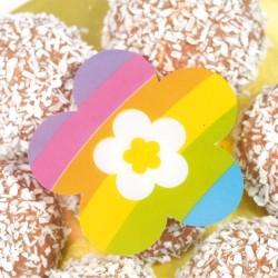 Accessoire pour décoration de vitrine de pâques - Sticker Happy