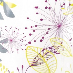Accessoire pour création de vitrine pour Pâques - Sticker Repositionnable Floraly zoom