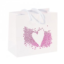 Sac Cabas Blanc Alchimie - Packaging Saint-Valentin