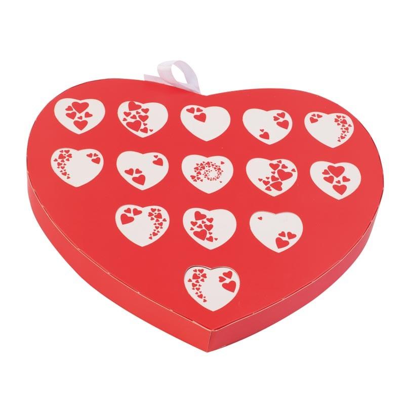 Calendrier de l'Amour - Packaging Saint Velntin