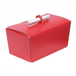Ballotin Rouge Missive - packaging Saint Valentin