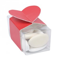 Bague pour Ballotin Transparent - Packaging St Valentin