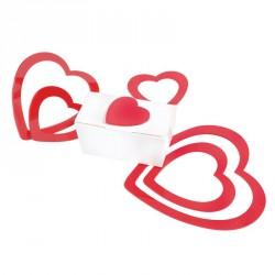 Sticker Cœur 3D - Accessoire Saint Valentin