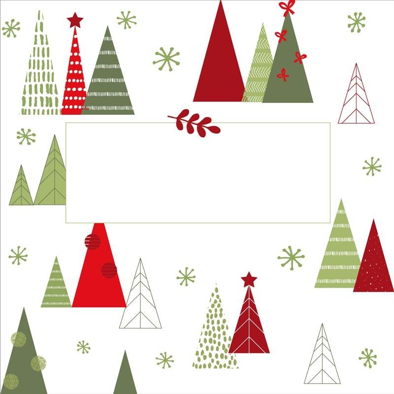 Carte Caméléon G-14 | Packaging personnalisé pour Noël - Innovant !