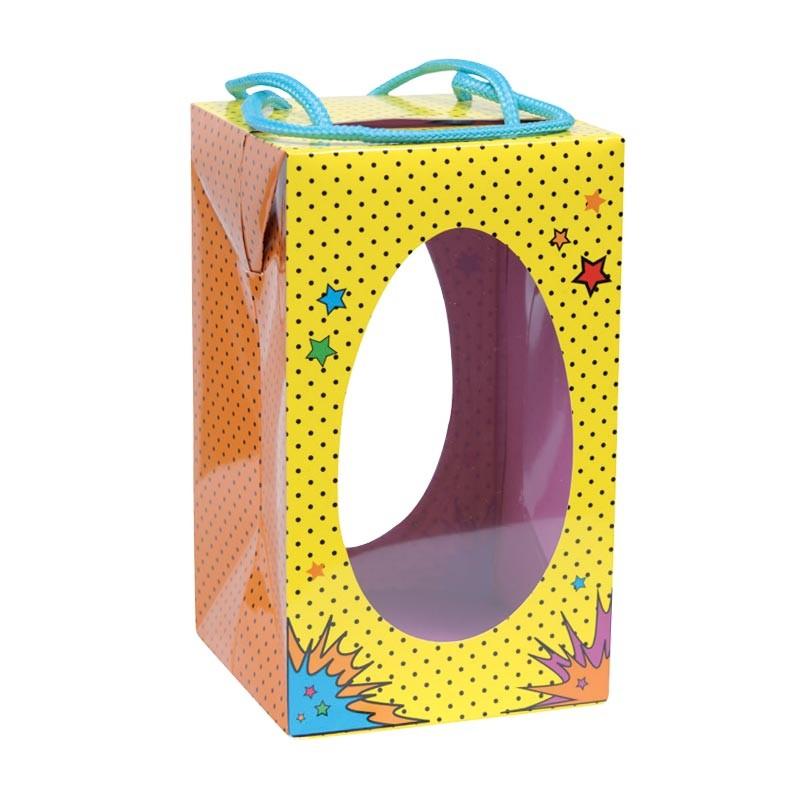 Packaging alimentaire pour les fêtes - Sac Boîte Œuf Pâques Cartoons