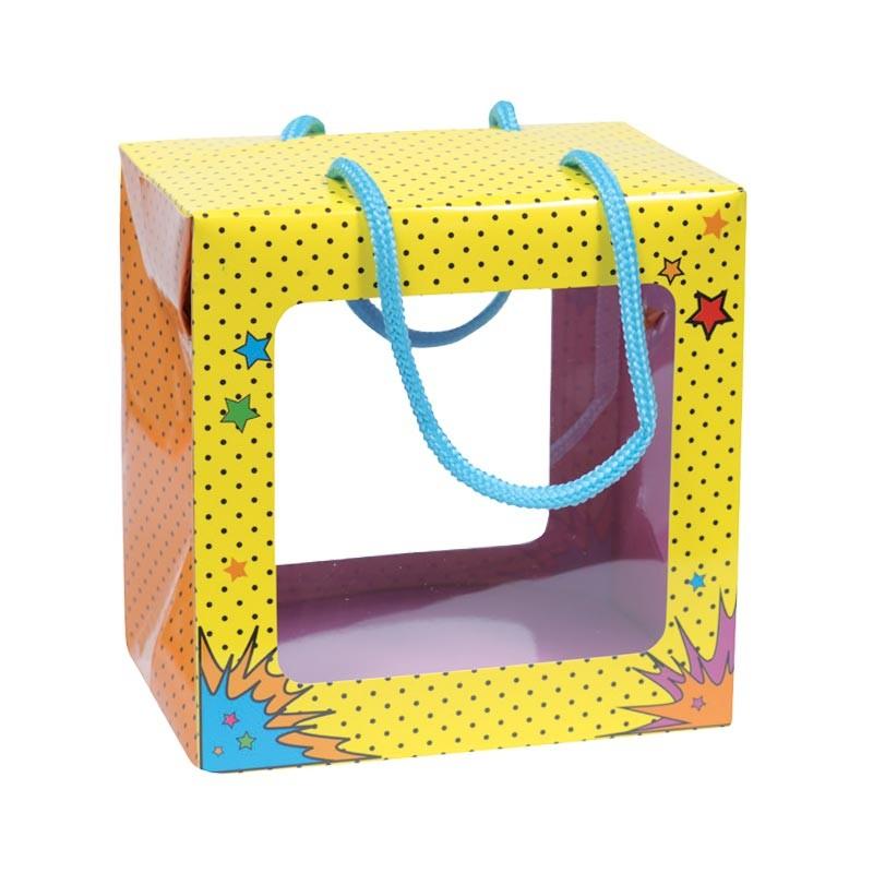 Emballage alimentaire en promo pour pâques - Sac Boîte Poule Cartoons