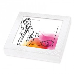 Packaging personnalisé - Boîte Caméléon mariage personnalisable I-27