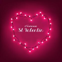 Emballage personnalisé pour fêtes des Amoureux - Saint Valentin - Carte Caméléon I-29
