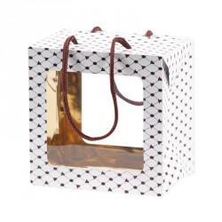 Emballage alimentaire en promo pour pâques - Sac Boîte Poule Impériale