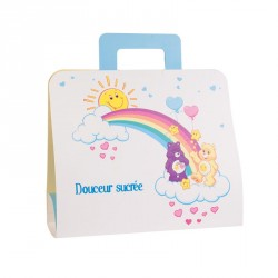 Packaging original pour pâques - En promo - Cartable Bisounours