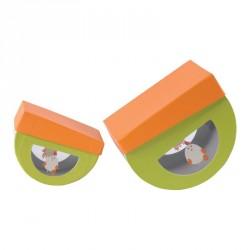 Emballage alimentaire de luxe pour Pâque en promo - Lolly Plumettis