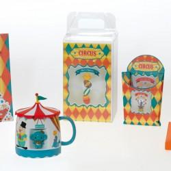 Kit Circus - Packaging amusant pour Pâques - 2 mugs à faire gagner à vos clients