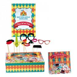 Kit Circus - Packaging ludique pour Pâques - 32 panoplies de cirque
