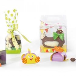 Kit Mixons les couleurs - Emballage ludiques pour confiseurs / Vitrine Pâques