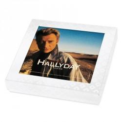 Emballage alimentaire personnalisé Johnny Hallyday en édition limitée - Boite caméléon collection n°2