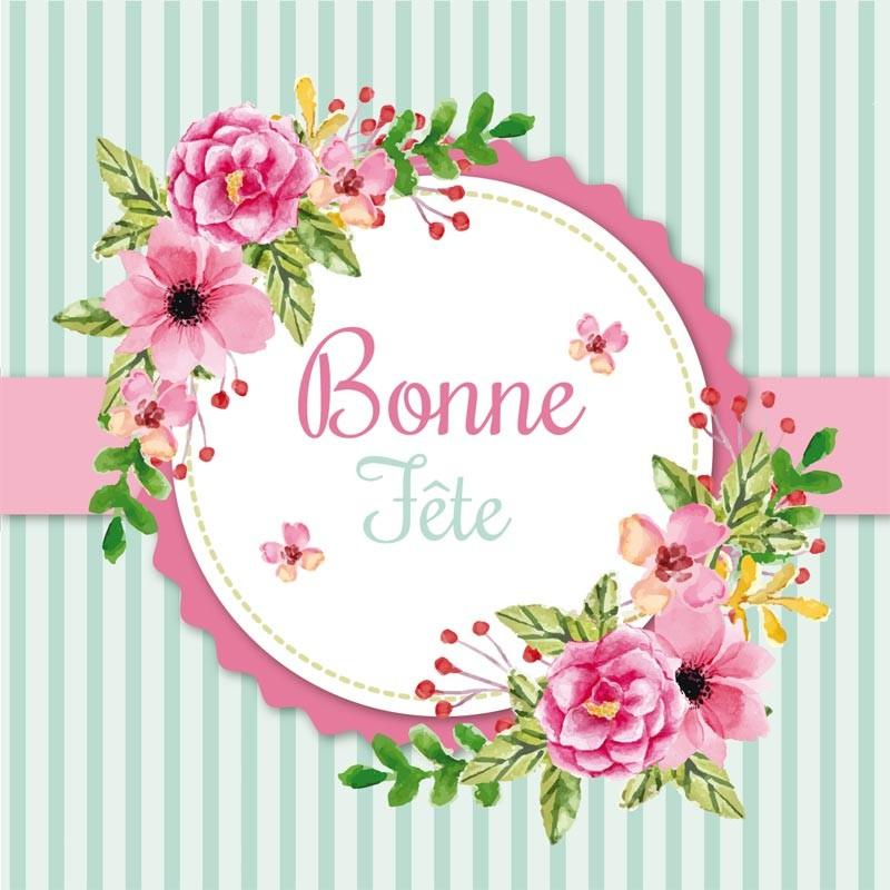 Packaging personnalisé dans le thème de la Fête des Mamies - Carte Caméléon I-44