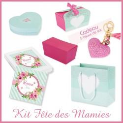 Packaging pour chocolatiers - Bonne fête mamie, Grand-mère