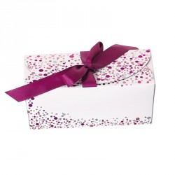 Packaging chocolatiers pâtissiers - Ballotin Ruban Happy Confettis