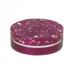 Packaging rond pour chocolatiers, pâtissiers, confiseurs - Rabelais Happy Confettis