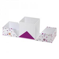 Packaging cubique pour chocolatiers, pâtissiers, confiseurs - Baudelaire Happy Confettis